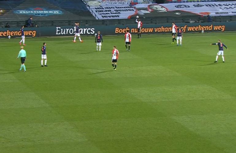 FC Emmen pakt ook een punt bij Feyenoord