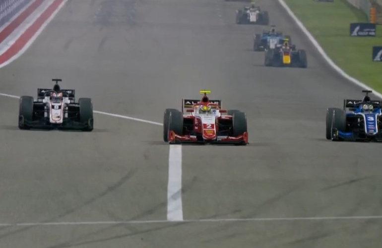 Verschoor knap vierde in tweede Formule 2 sprintrace