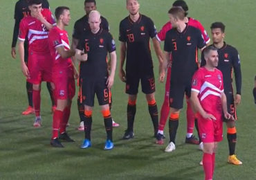 Oranje werkt flink aan doelsaldo tegen Gibraltar