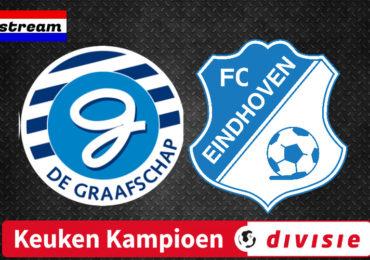 KKD livestream De Graafschap - FC Eindhoven