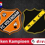 KKD livestream FC Volendam - NAC Breda