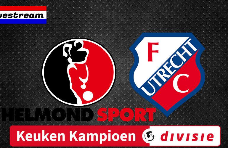 KKD livestream Helmond Sport - Jong FC Utrecht