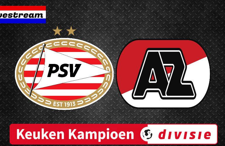 Kijk hier via de livestream Jong PSV - Jong AZ gratis
