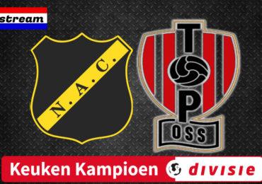 KKD livestream NAC Breda - TOP Oss