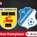 KKD livestream SC Cambuur - FC Eindhoven