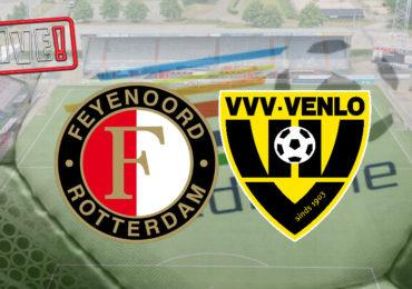 Livescore Feyenoord - VVV | Eredivisie livestream