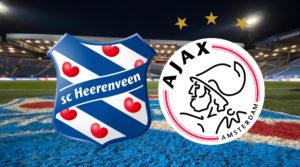 Livescore SC Heerenveen - Ajax