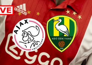 Gratis Ajax - ADO Den Haag kijken via een livestream