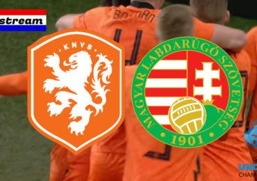 Livestream Nederland - Hongarije | EK voetbal Jong Oranje