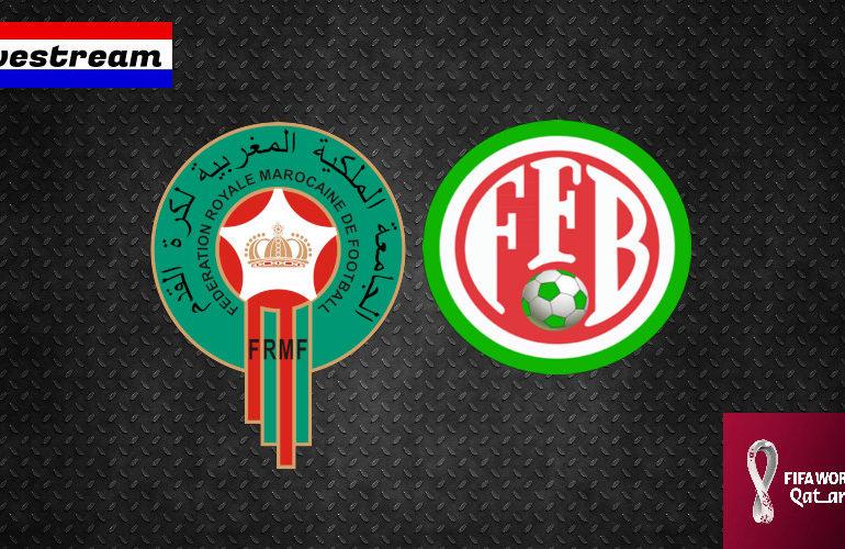 Livestream Marokko - Burundi | Qatar 2022 Qualifiers