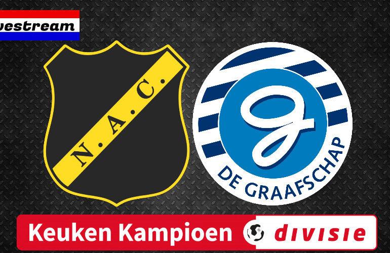 NAC Breda - De Graafschap kijken via een livestream