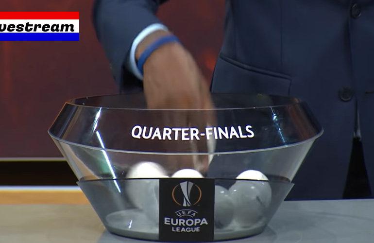 Livestream loting kwartfinale Europa League