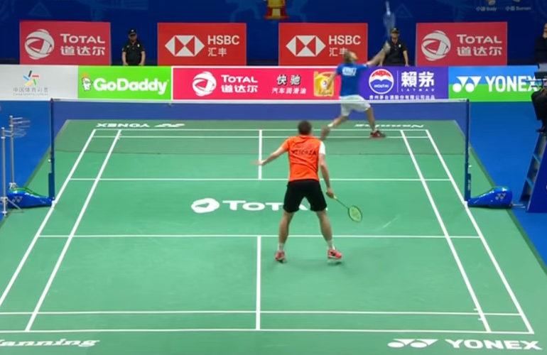 Caljouw uitgeschakeld op EK Badminton