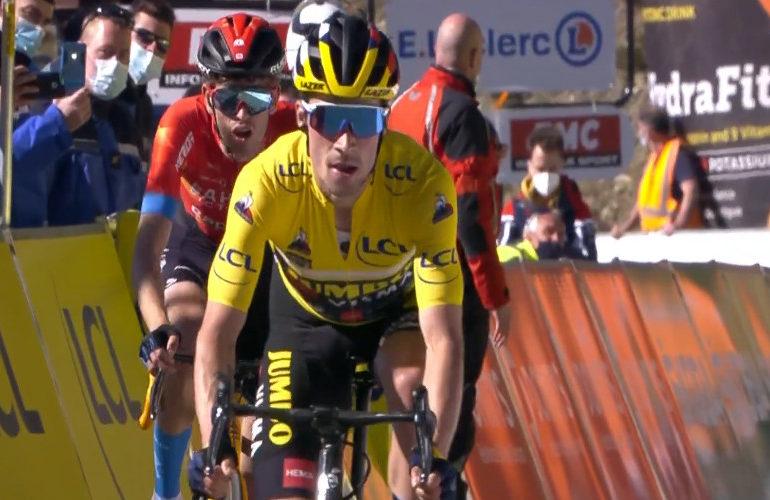 Roglic ook de sterkste in zevende etappe Parijs-Nice