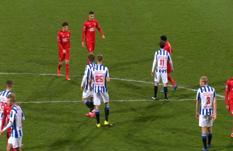 Opnieuw geen doelpunten bij Heerenveen - Twente