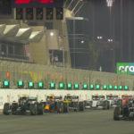Startgrid F1