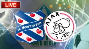 TOTO KNVB Beker SC Heerenveen - Ajax