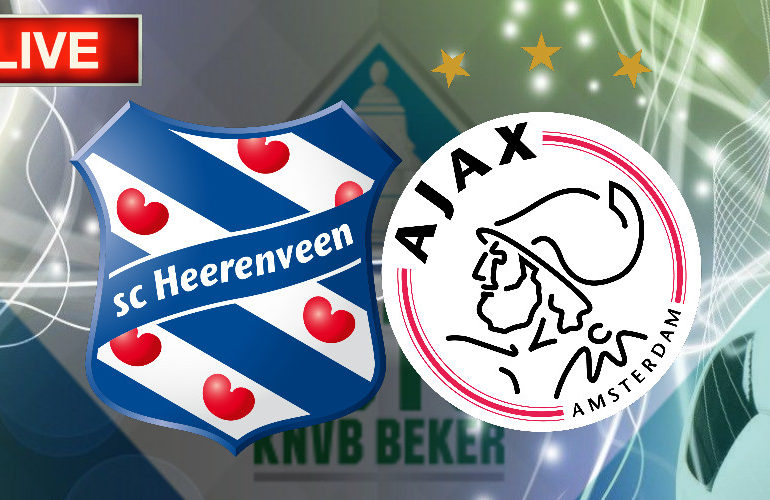 TOTO KNVB Beker livestream SC Heerenveen - Ajax