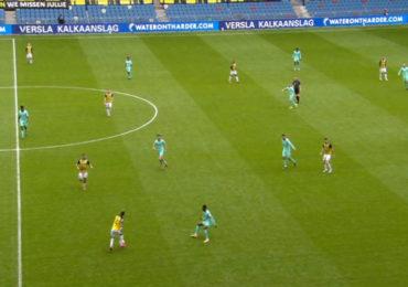 Vitesse en Willem II delen de punten
