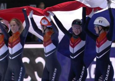 Dubbel goud voor Nederland op de relay