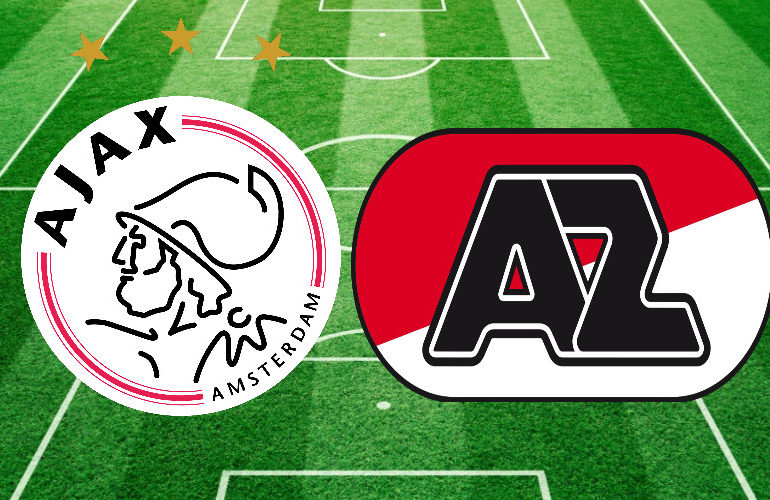 Topper Ajax - AZ vervroegd naar 14.30 uur