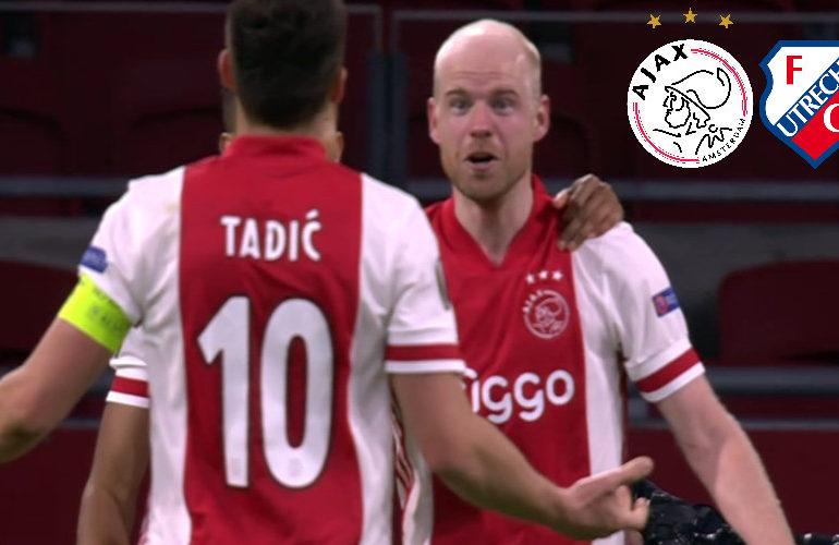 Waar kijk ik vanavond live en gratis Ajax - FC Utrecht
