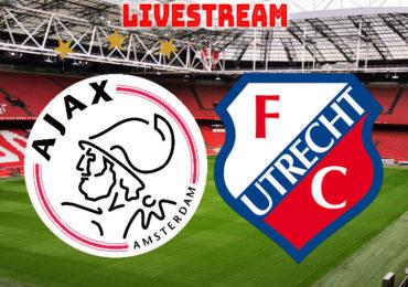 Ajax - FC Utrecht live kijken via een livestream