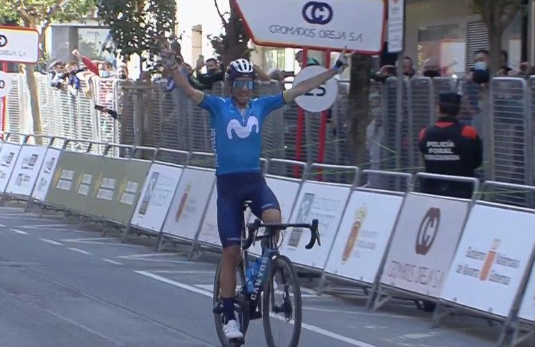 Valverde wint GP Indurain, Mollema zevende