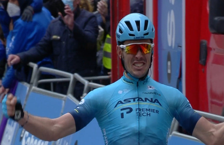 Alex Aranburu wint tweede etappe in het Baskenland