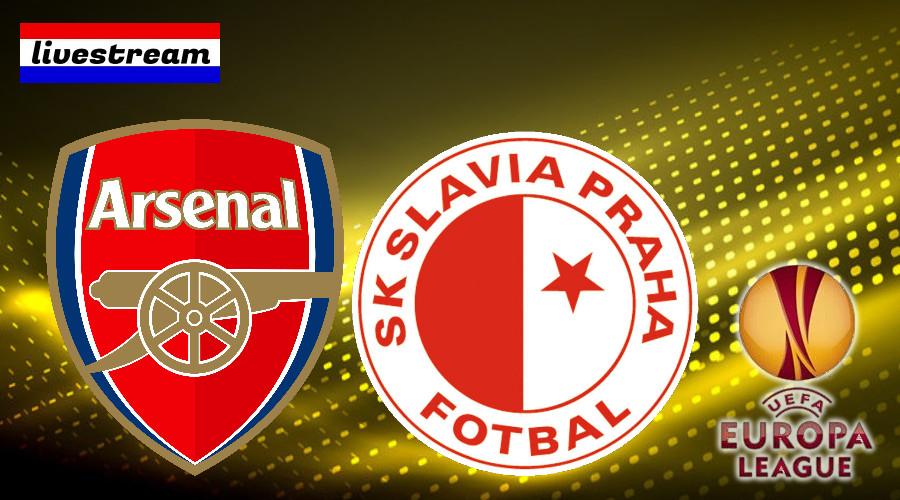 Arsenal -Slavia Praag Europa League livestream