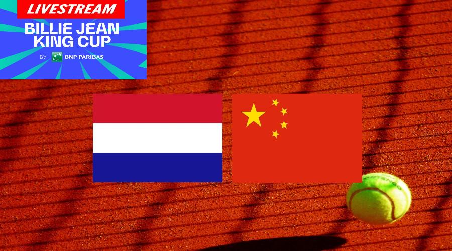 Billie Jean King Cup Nederland - China Tennis LIVE (Foto Pexels)