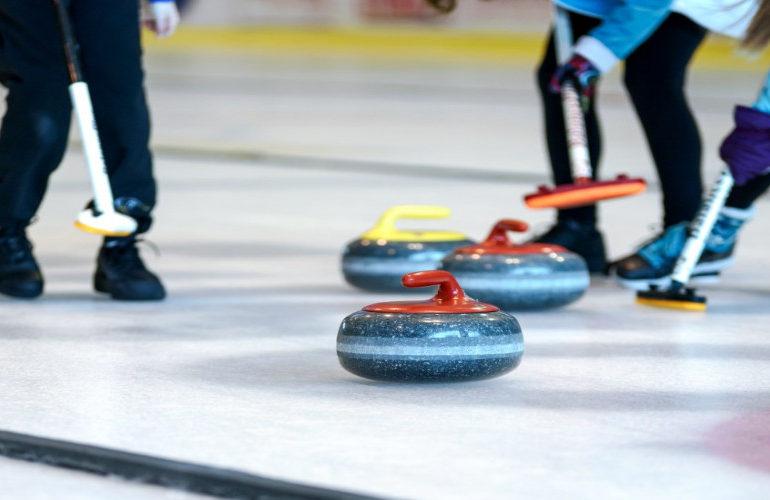 Curling team ook onderuit tegen Denemarken