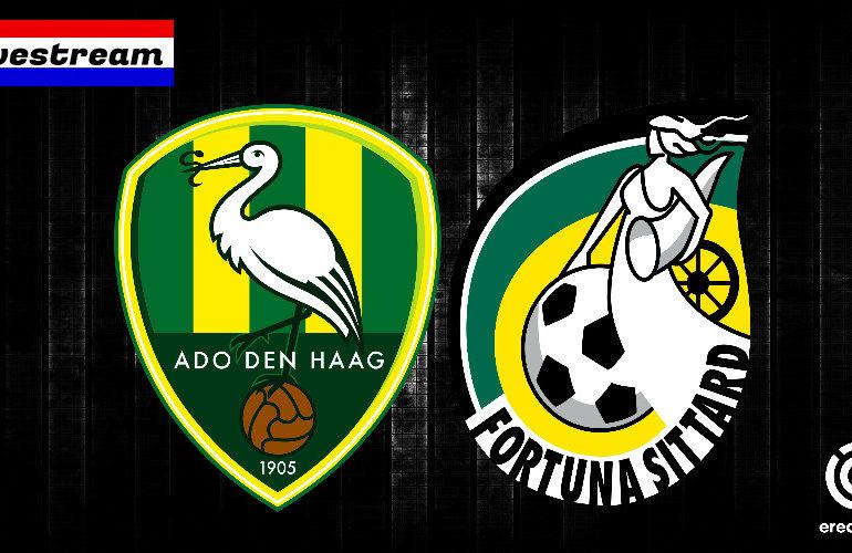 Eredivisie livestream ADO Den Haag - Fortuna Sittard