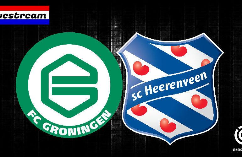 Eredivisie livestream FC Groningen - SC Heerenveen