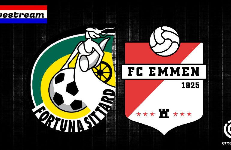Eredivisie livestream Fortuna Sittard - FC Emmen