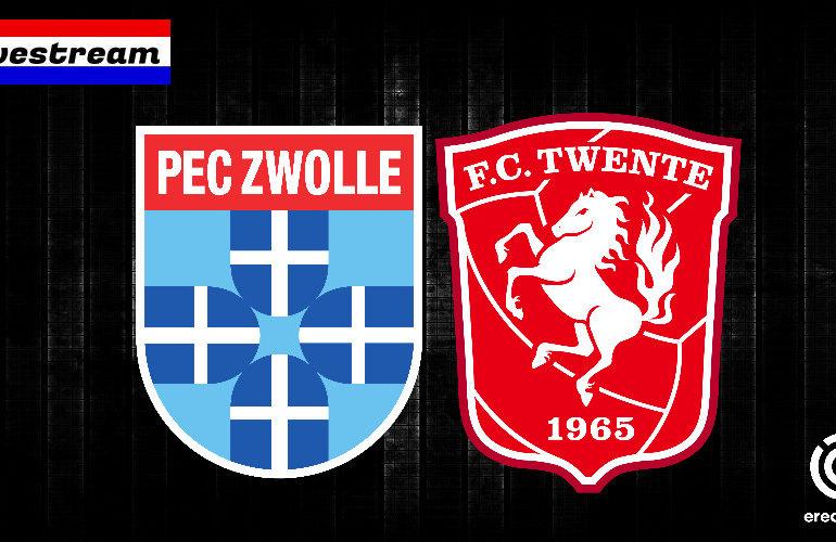 Eredivisie livestream PEC Zwolle - FC Twente