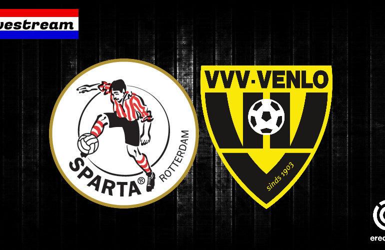 Eredivisie livestream Sparta - VVV