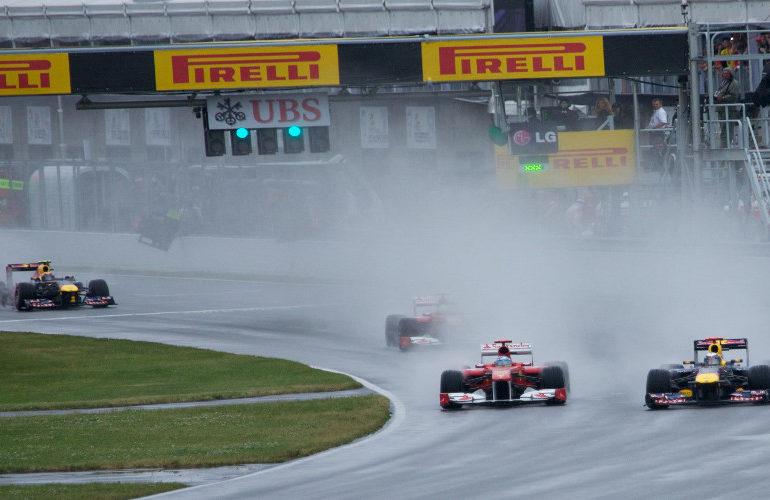 F1 GP Emilia-Romagna: Zondag regen?