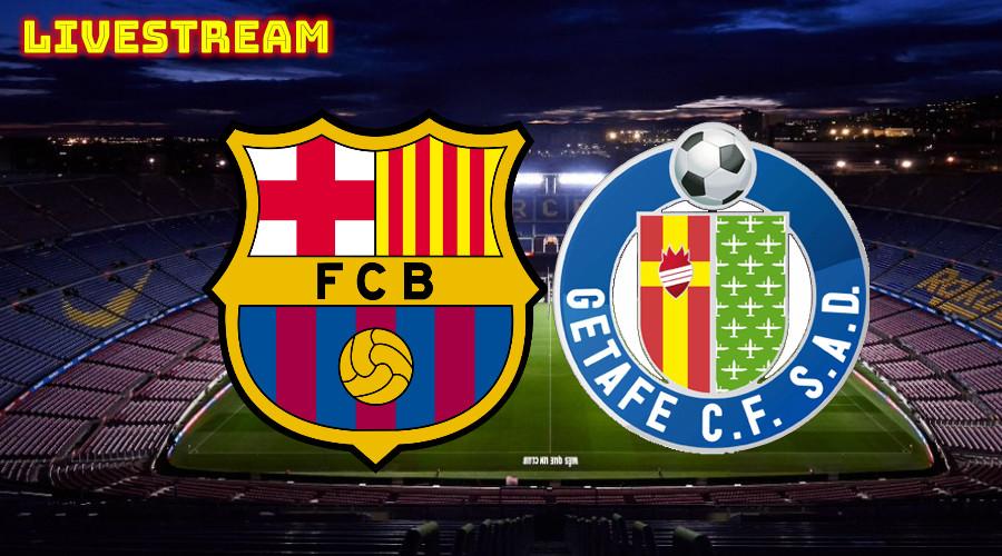 FC Barcelona - Getafe live stream