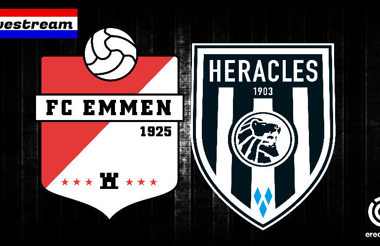 Eredivisie livestream FC Emmen - Heracles Almelo