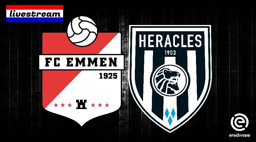FC Emmen - Heracles kijken via een eredivisie live stream
