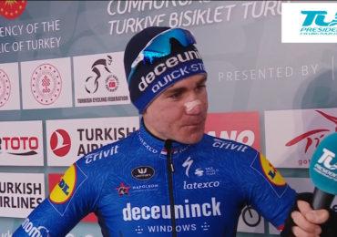 Tweede etappezege Jacobsen in Wallonië