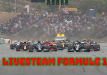 Formule 1 GP van Portugal live stream
