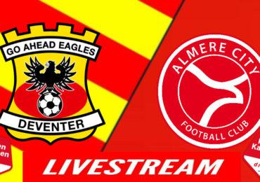 Go Ahead Eagles - Almere City | LIVESTREAM | Voetbal kijken