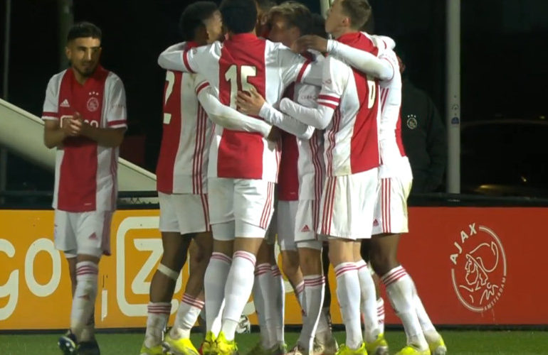 Jong Ajax pakt een punt tegen NAC Breda