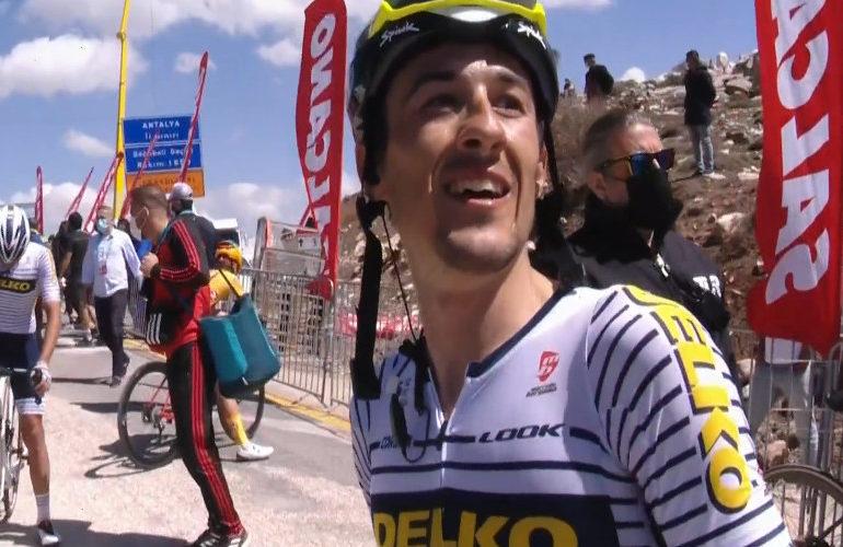 José Manuel Diaz wint bergetappe in Ronde van Turkije