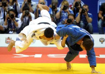 Goud Judoka Simeon Catharina in Kazan