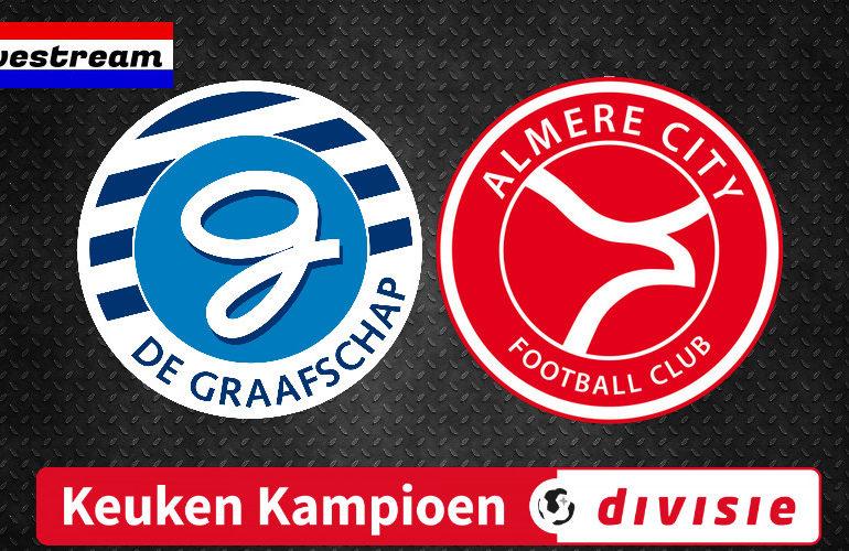 KKD livestream De Graafschap - Almere City FC