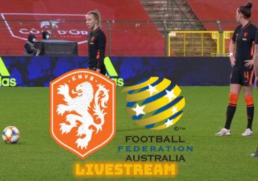 Kijk Nederland - Australië via een gratis livestream