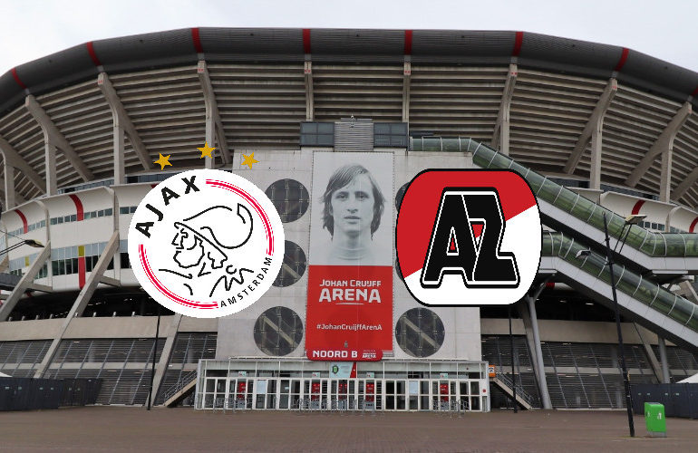 Kijk hier zondagmiddag Ajax - AZ | Eredivisie live stream